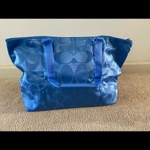 Coach Bags - Coach Get Away Signature Packable Weekend Tote Bag